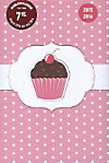 Collegetimer A5 day by day Cupcake 2015/2016