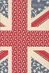 Collegetimer A6 day by day Union Jack 2015/2016