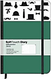 SoftTouch Diary Silhouettes Very British 2015 WEEKLY 9x14
